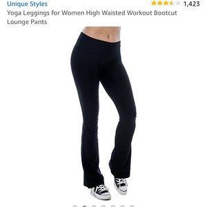 🤷♀️🏷Yoga Leggings High Waisted Bootcut Pants